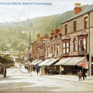 Matlock Bath - copyright Photochrom Co. Ltd.